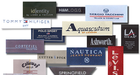 Woven Clothing Labels