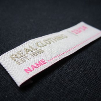 Woven Clothing Labels (500 units)